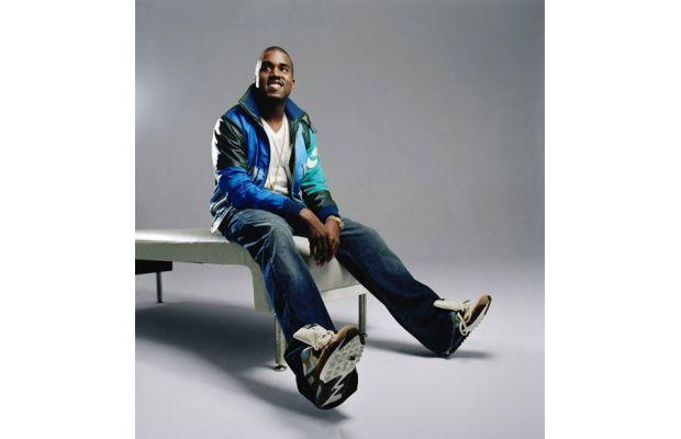 Kanye covers Complex 2003 wearing insane sneakers