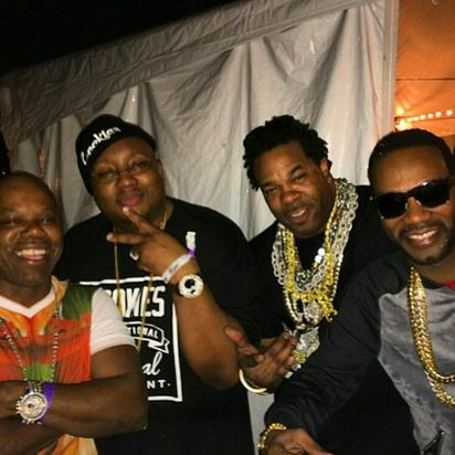 Too Short, Juicy J, E-40 and Busta Rhymes
