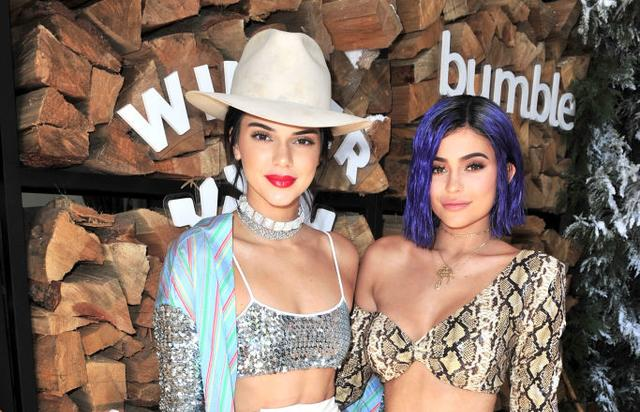 Kendall Jenner and Kylie Jenner attend Winter Bumbleland - Day 1 on April 15, 2017 in Rancho Mirage, California.