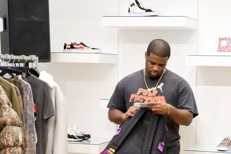 A$AP Ferg attends The Webster Celebrates Exclusive Launch Of A$AP Ferg X AGOLDE Collection at The Webster on July 20, 2017 in Miami, Florida.