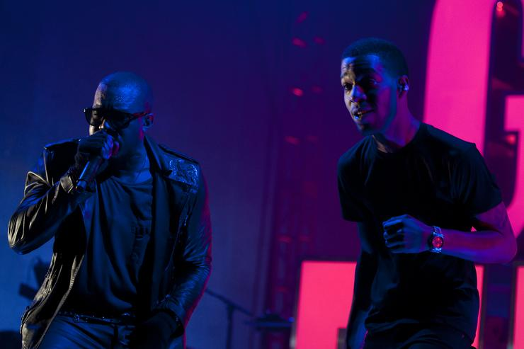 Kanye West might have a secret project with Kid Cudi (who's touring)