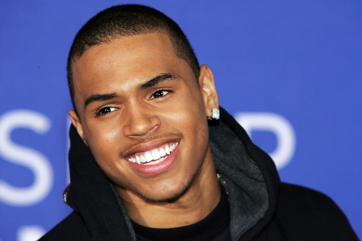Chris Brown at The World Music Awards