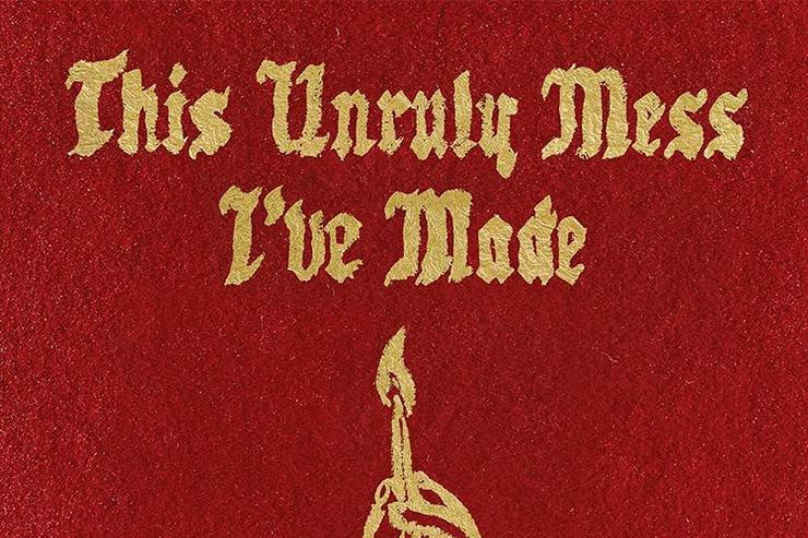 """MAcklemore & Ryan Lewis """"This Unruly Mess Ive Made"""" album cover"""