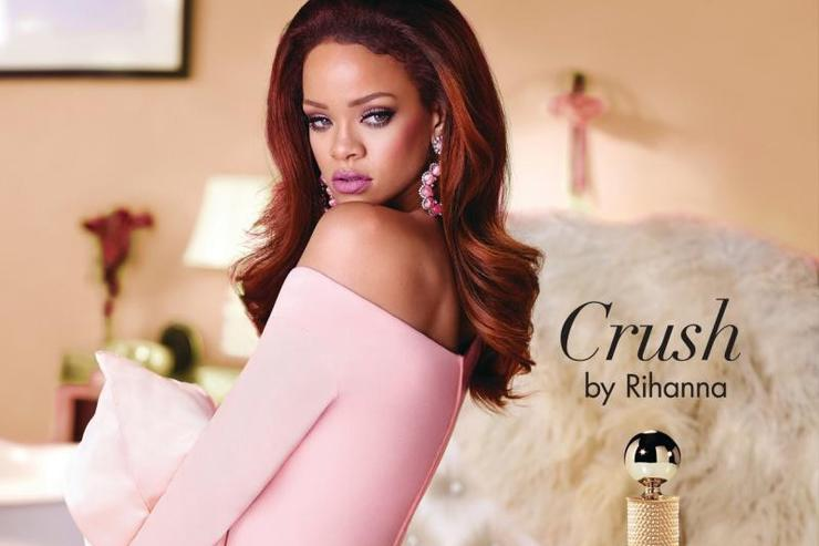 Rihanna's ad for 'Crush' perfume