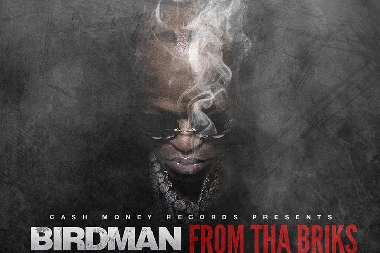 "album cover for Birdman's ""From Tha Briks"""