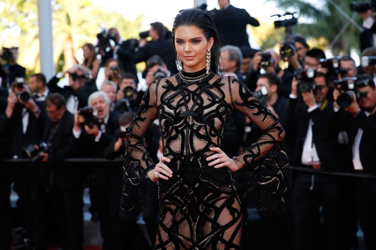 Kendall Jenner at Cannes festival