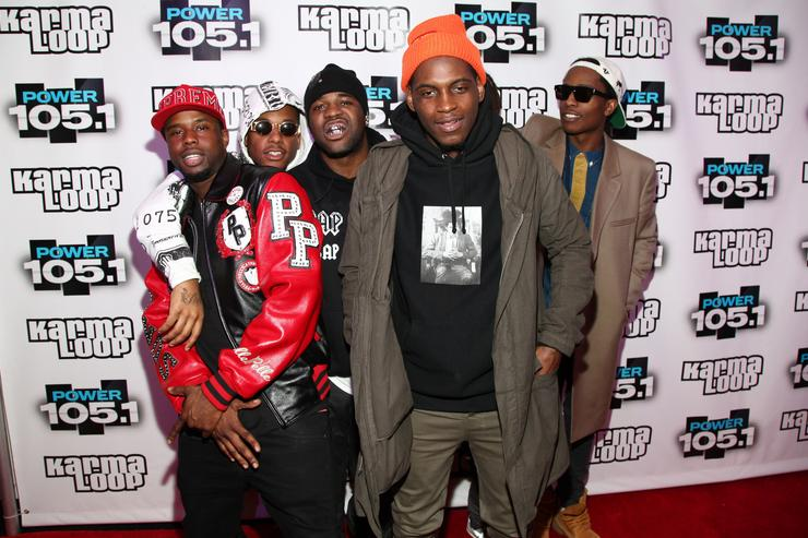 ASAP Mob on the red carpet