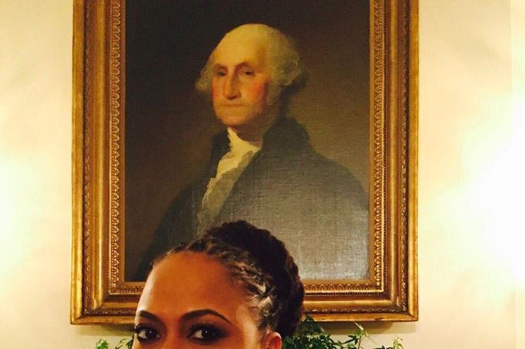Ava Duvernay and George Washington