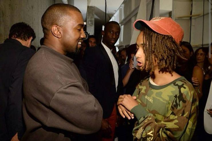 Jaden Smith Kanye West