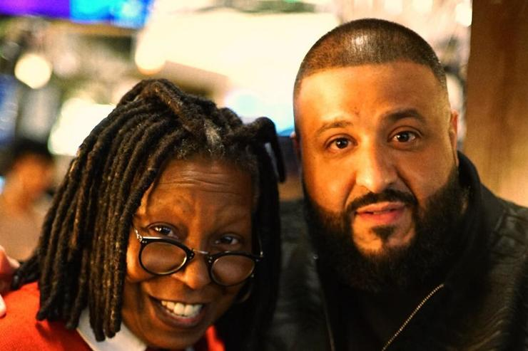 DJ Khaled Whoopi Goldberg