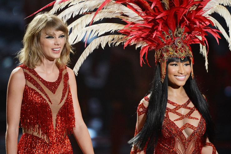 Nicki Minaj Taylor Swift