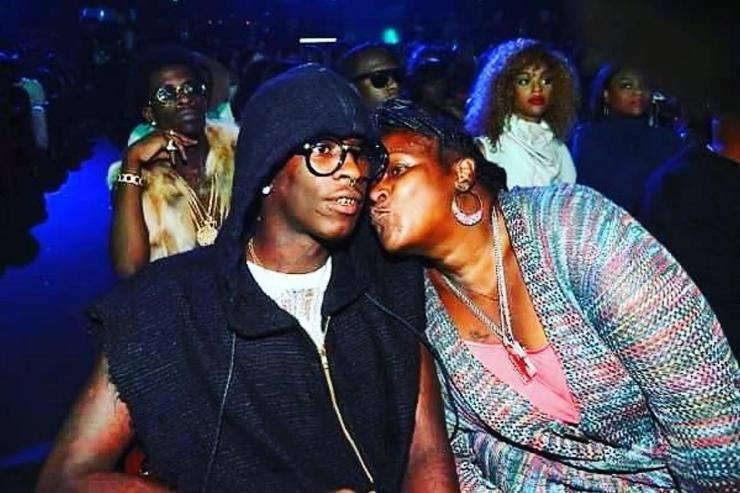 Young Thug and his mama