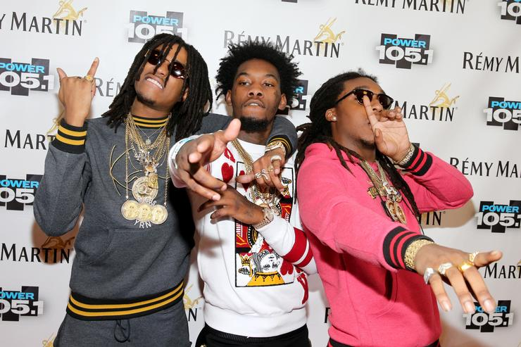 Migos at Power 105.1's Powerhouse 2014.