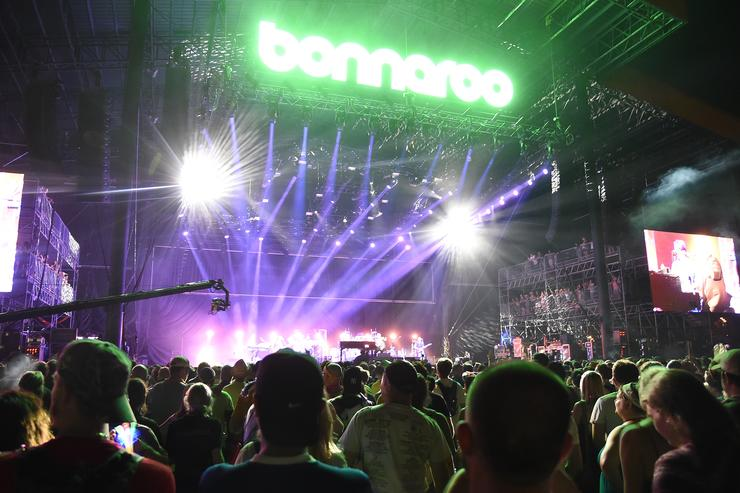 2015 Bonnaroo Music Festival in Tennessee.