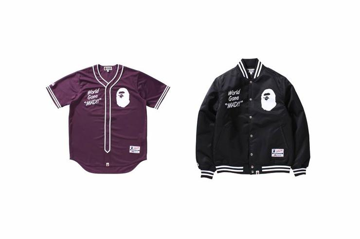 Bape and Majestic 2017 capsule collection.