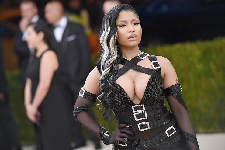Nicki Minaj attends the 'Manus x Machina: Fashion In An Age Of Technology' Costume Institute Gala at Metropolitan Museum of Art on May 2, 2016 in New York City.