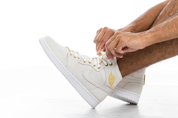 "Air Jordan 1 ""Pinnacle"" shoe."