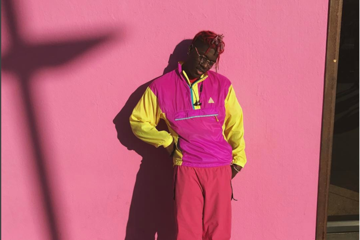 Lil Yachty in LA on Melrose Avenue in 2017.