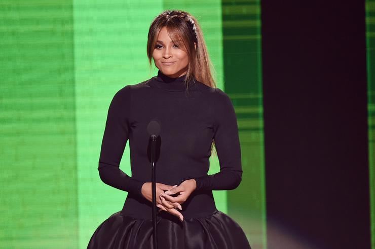 Ciara at 2016 American Music Awards.