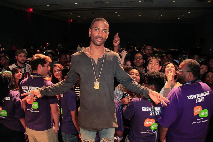Big Sean attends CRWN @ SXSW : A Conversation with Elliott Wilson and Big Sean for WatchLOUD.com on March 18, 2015 in Austin, Texas.