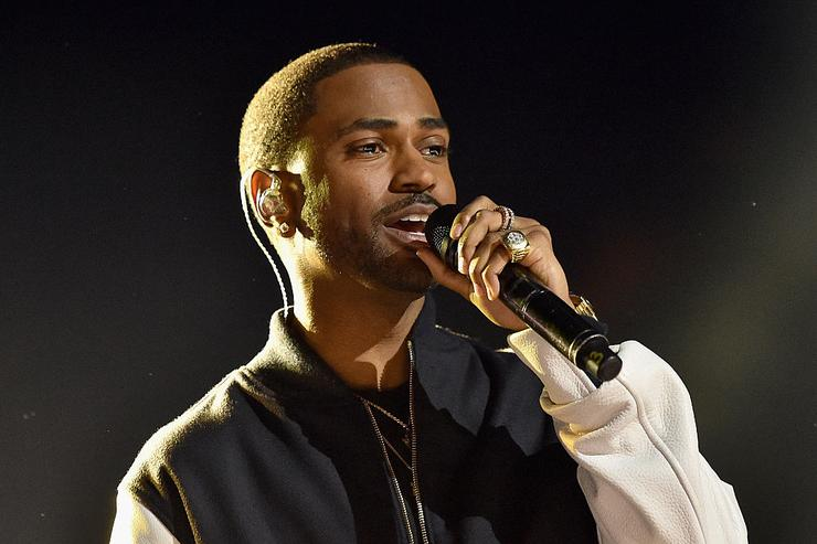 Big Sean onstage at WE Day California 2016 at The Forum on April 7, 2016 in Inglewood, California.