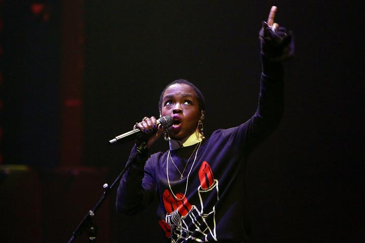 Lauryn Hill performing Live in Melbourne.