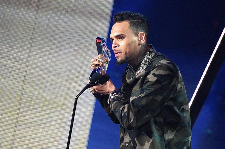 Chris Brown performs onstage at the iHeartRadio Music Awards which broadcasted live on TBS, TNT, AND TRUTV from The Forum on April 3, 2016 in Inglewood, California.