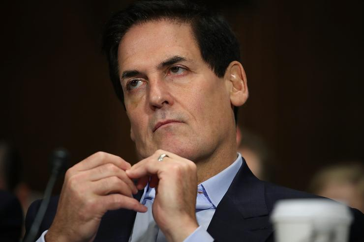Mark Cuban at hearing for AT&T and Time Warner CEO's testimony to join Senate Judiciary committee