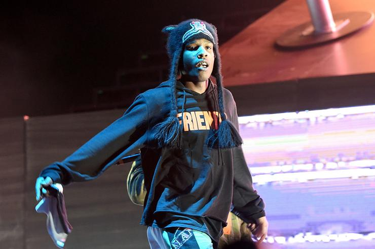 A$AP Rocky performs on Camp Stage during day one of Tyler, the Creator's 5th Annual Camp Flog Gnaw Carnival at Exposition Park on November 12, 2016 in Los Angeles, California.