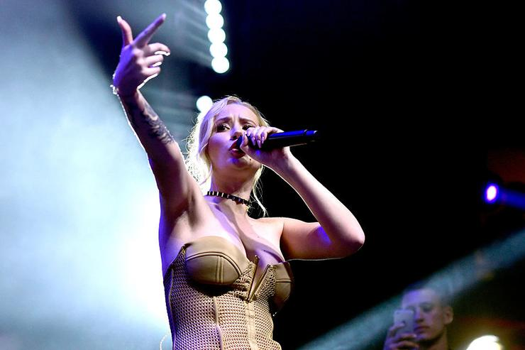Iggy Azalea performs onstage during the 2016 MAXIM Hot 100 Party at the Hollywood Palladium on July 30, 2016 in Los Angeles, California.