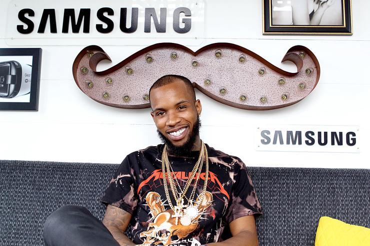 Tory Lanez is seen at the Samsung Creator's Lab at Lollapalooza 2016 - Day 3 at Grant Park on July 30, 2016 in Chicago, Illinois.
