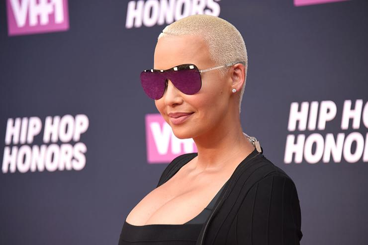 Amber Rose attends the VH1 Hip Hop Honors: All Hail The Queens at David Geffen Hall on July 11, 2016 in New York City.