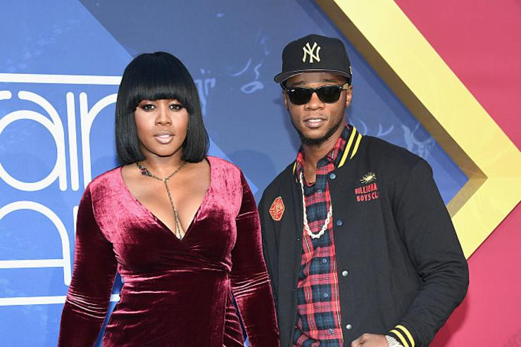 Rappers Remy Ma (L) and Papoose attend the 2016 Soul Train Music Awards at the Orleans Arena on November 6, 2016 in Las Vegas, Nevada.