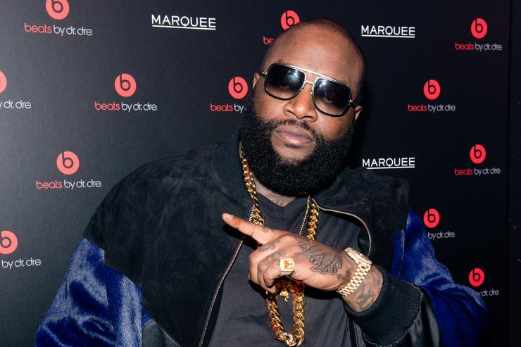 Rick Ross attends Beats By Dr. Dre special event At Marquee New York on January 31, 2014 in New York City.