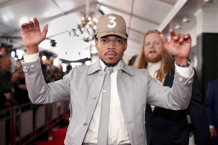 Chance The Rapper attends The 59th GRAMMY Awards at STAPLES Center on February 12, 2017 in Los Angeles, California.