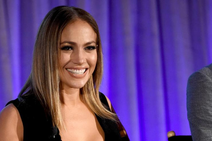 Executive producer/judge Jennifer Lopez of 'World Of Dance' speaks onstage during the 2017 NBCUniversal Summer Press Day at The Beverly Hilton Hotel on March 20, 2017 in Beverly Hills, California.