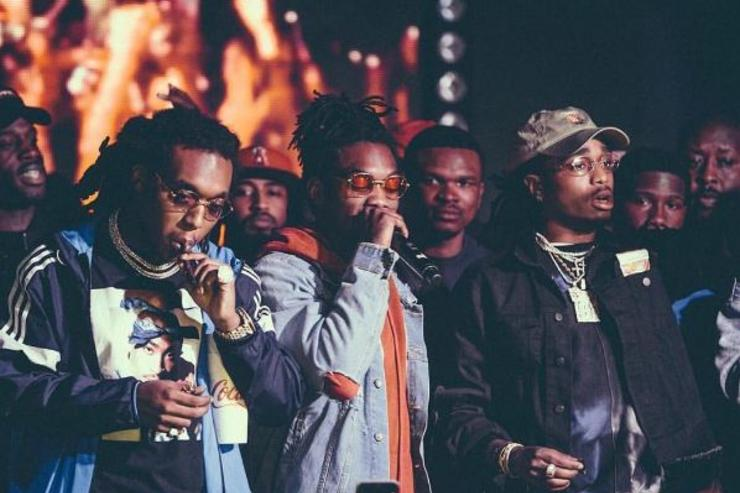 Migos perform at a show.