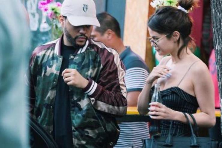 The Weeknd & Selena Gomez go out on a date.