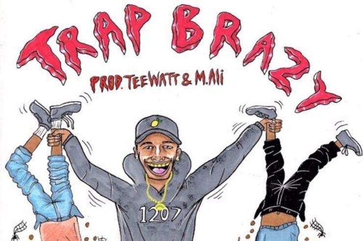 "cover art for ""Trap Brazy"""