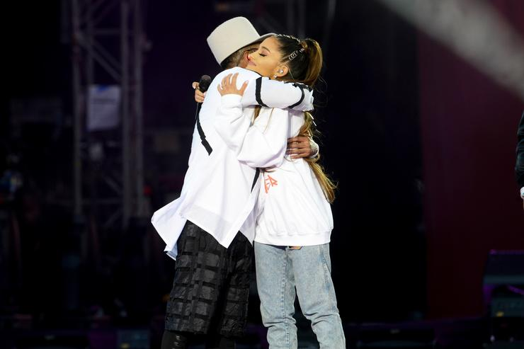 Ariana Grande at One Love Manchester Concert