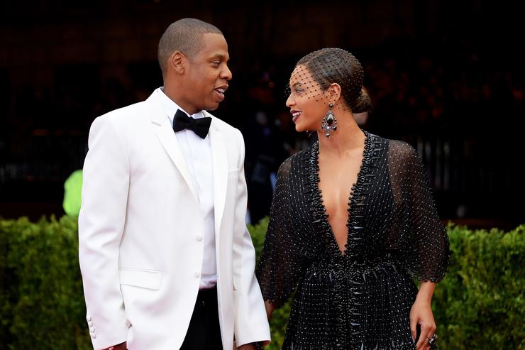 Jay Z and Beyonce at 'Charles James: Beyond Fashion'