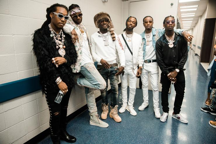 Migos and 2 Chainz at Hot 107.9's Birthday Base