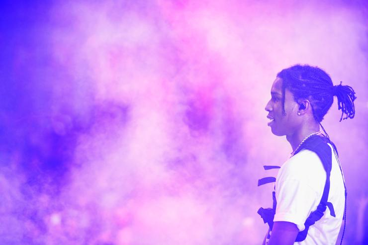 ASAP Rocky at Drai's LIVE Wraps New Year's Weekend With First-Ever Performance