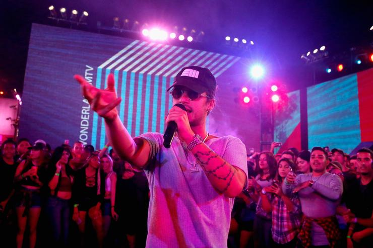 Russ performs at MTV's 'Wonderland' LIVE Show