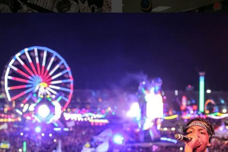 Metro boomin performs at Electric Daisy Carnival
