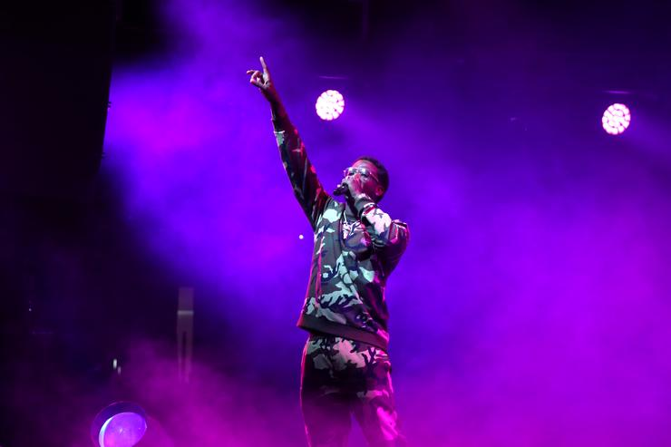 Gucci Mane performs onstage at night three of the STAPLES Center Concert,