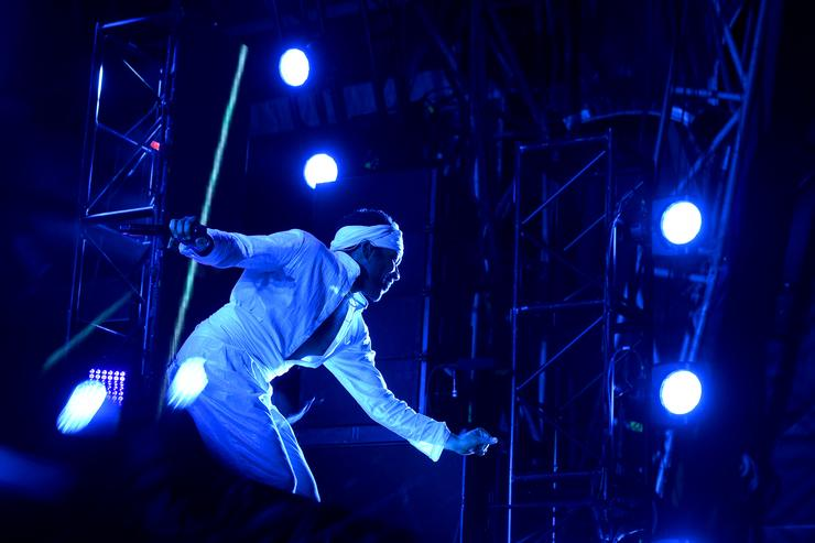 Childish Gambino performs onstage during the 2017 Governors Ball Music Festival