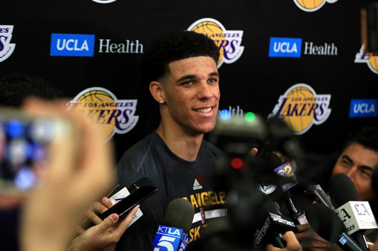 Lonzo Ball, Jayson Tatum share 'best career' vote in National Basketball Association rookie survey